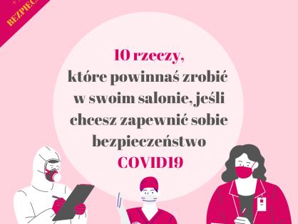 Jak zapewnić bezpieczeństwo w salonie kosmetycznym przy COVID19